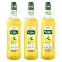 Teisseire - Pack de 3 sirops de jucci citron acide