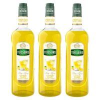 Teisseire - Pack de 3 sirops de citron clair