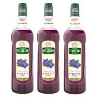 Teisseire - Pack de 3 sirops violette
