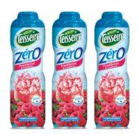 Teisseire - Pack de 3 sirops 0% de sucre framboise cranberry