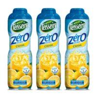 Teisseire - Pack de 3 sirops 0% de sucre citron