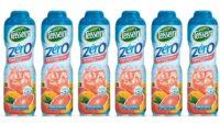 Teisseire - Pack de 6 sirops 0% de sucre pamplemousse rose