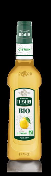 Teisseire - Sirop citron BIO Teisseire